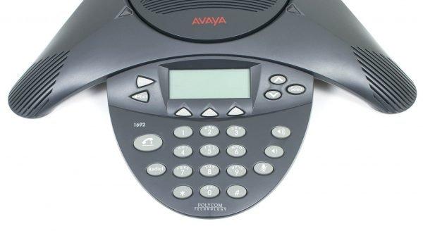 Avaya 1692 telephone conference