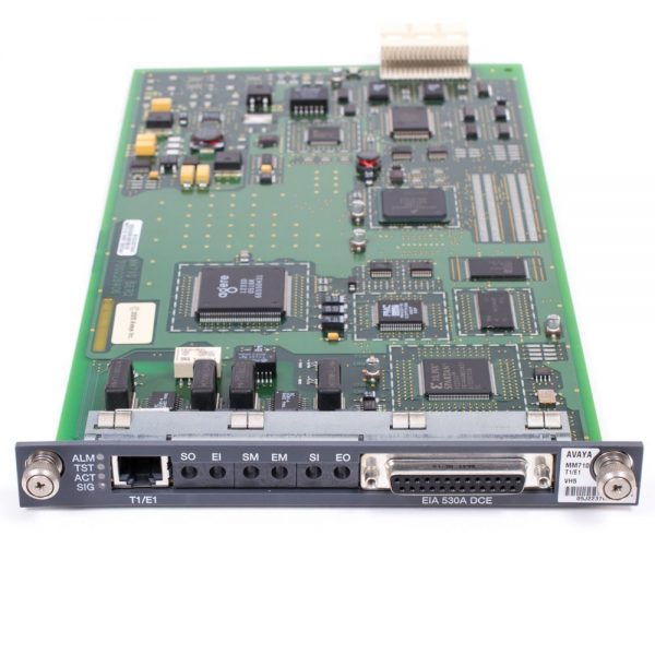 Avaya MM710B T1/E1 Media Module 700466634