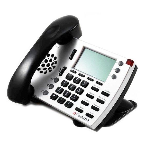 Bulk ShoreTel 230 Silver IP Phone