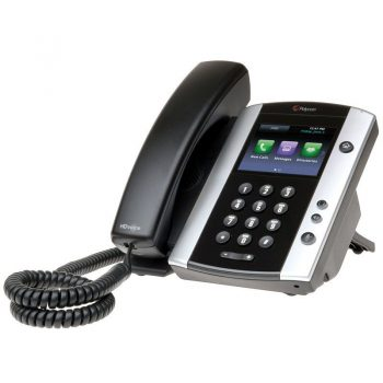 Polycom VVX 501 HD Business Media IP Desk Phone