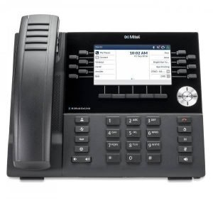 Mitel 6930 IP Phone Front View