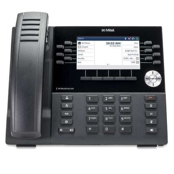 Mitel 6930 IP Phone Front View